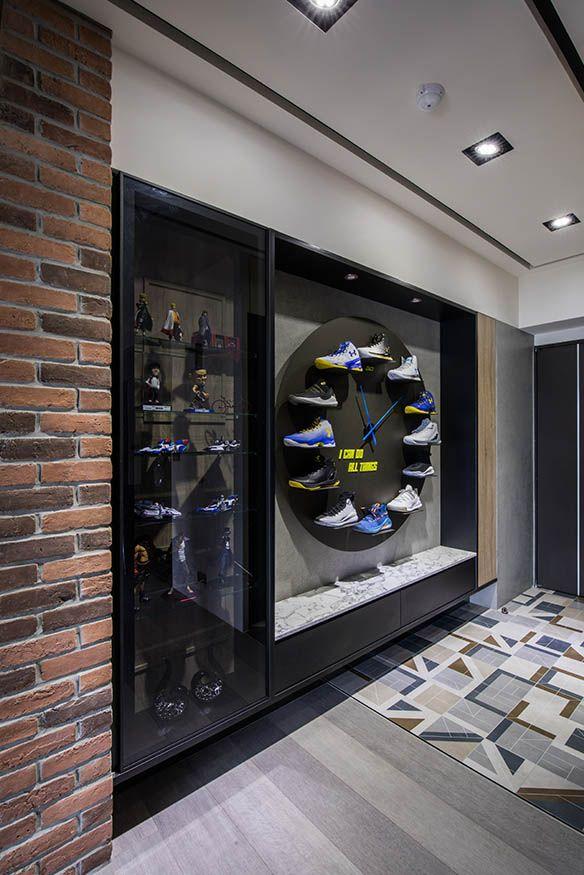 球鞋收藏家 運動輕工業特色風格宅上的釘圖