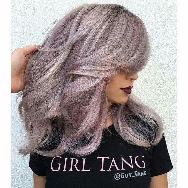 A Guy Tang Creation  Haircolor formula all Demi Kenra Professional  Formula 1: full tubes of 8brm+7vm+7sm+1in blue and 2in Violet booster  Formula 2: full tube 10brm+1oz 8brm+ 8sm+8vm+ 1in 5vr+2 dots red booster+3inch Violet booster Formula 3: full tube 10brm+10sm+9vm+ one dot red booster+2in violet booster!
