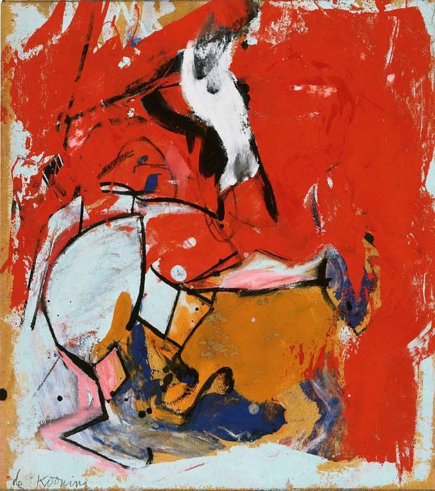 de Kooning Untitled 1948 [Abstract Expressionism]
