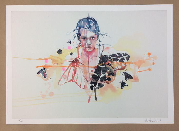 "Handfinnished ""skumring "" by Line Osmundsen"