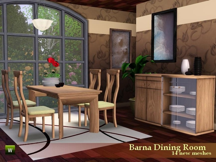 212 best sims 3 ideas images on pinterest sims 3 sims for Sims 3 dining room ideas