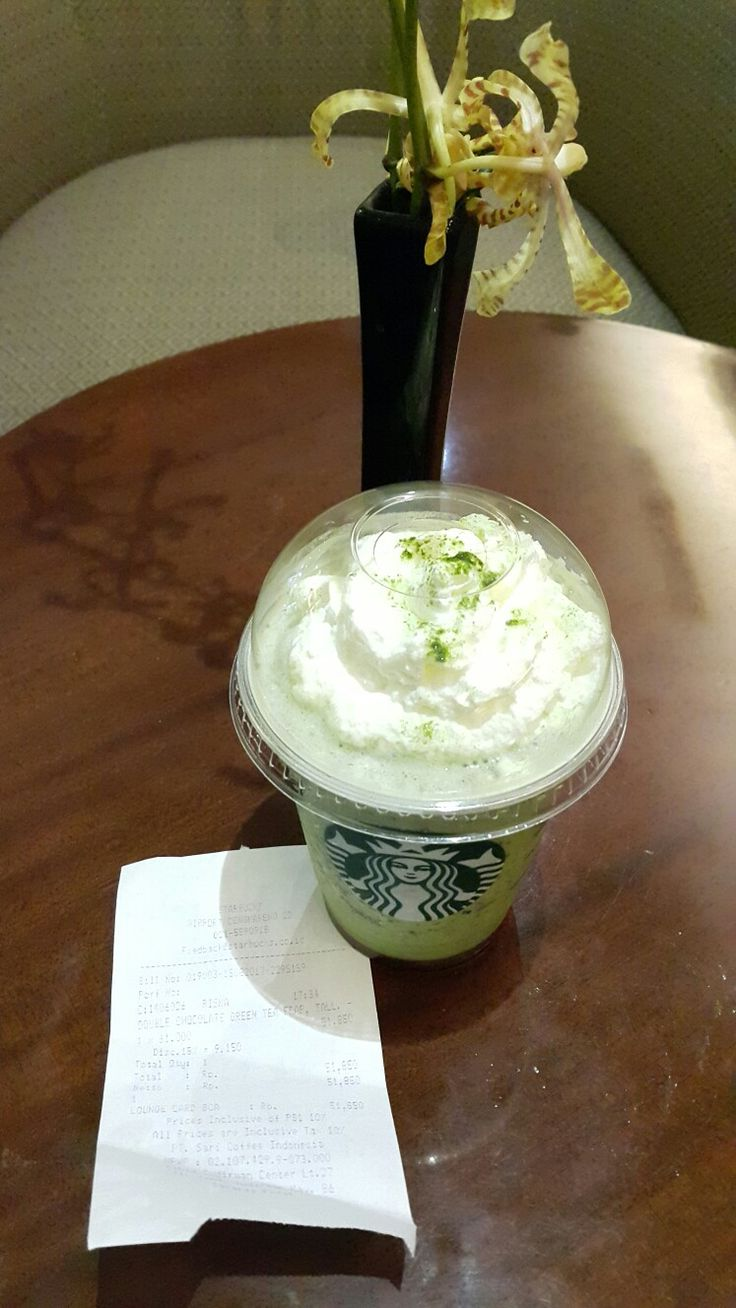 Greentea #Starbucks #airport #jakarta