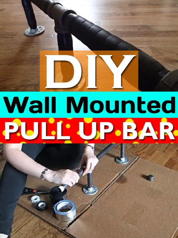 Diy Pull Up Bar At Home Diy Pull Up Bar Pull Up Bar Up Bar