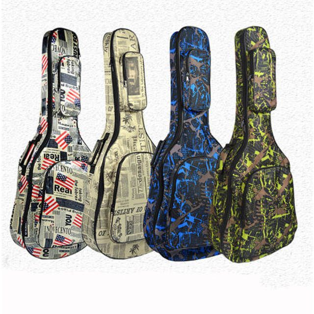 Online Shop New Fashion Folk Acoustic Guitar Gig Bag Soft Case Strap Padded For 40 41 Inch Waterproof Aliexpress Mobile Bags Functional Bag Guitar Bag