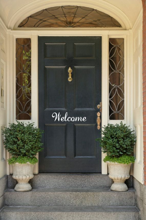 Best 20 Welcome door ideas on Pinterest Door signs Welcome
