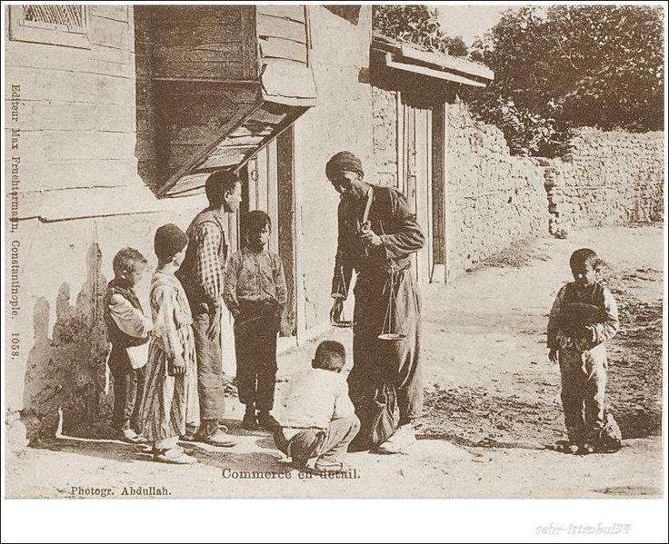 Eskilerden bir Leblebi satıcı... Photo Abdullah.