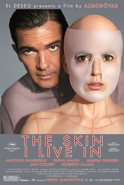 The Skin I Live In--I love Pedro Almodovar movies! They're always crazy and absurd but really well done. This is one of his weirder films about a plastic surgeon obsessed with his dead wife who seeks revenge in the sickest way possible.