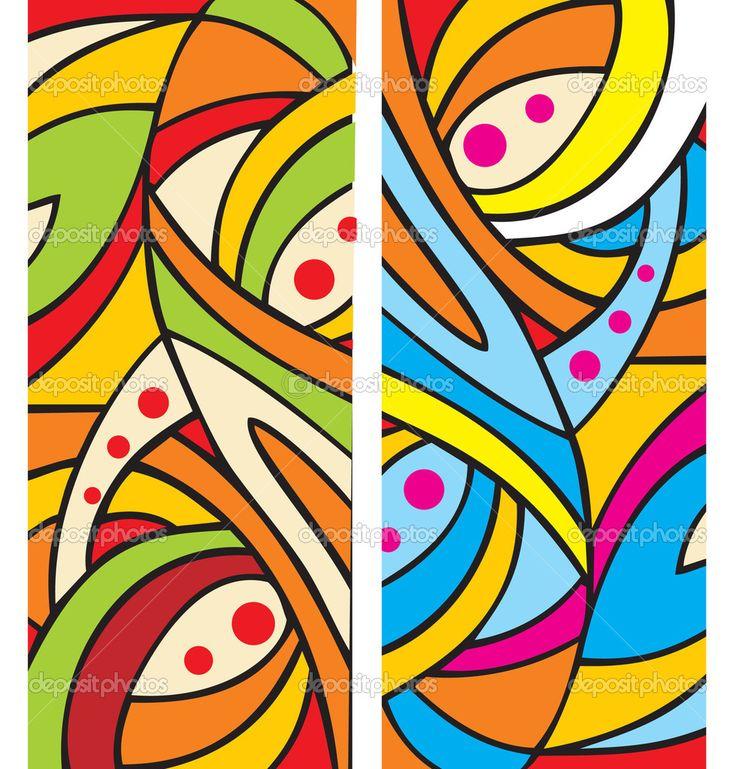 Скачать - Абстрактный геометрический фон — стоковая иллюстрация #7311267
