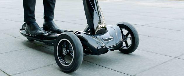 세계최초의 폴딩형 역삼륜 전동킥보드 Transboard 와디즈 리워드 크라우드펀딩 차량 카트