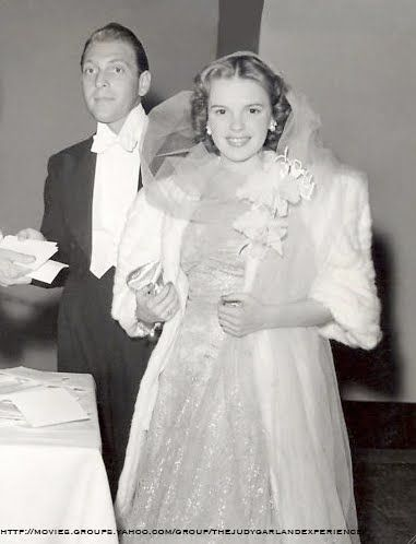 Actress/Singer Judy Garland and songwriter/orchestra leader David Rose were married 1941-1944.  It was her first marriage and his second.  His first wife (1938-1941) was actress Martha Raye.  Judy married four more times: to Vincente Minnelli, Sidney Luft, Mark Herron, and Mickey Deans.  She and Deans were married just over 3 months when she died at age 47.