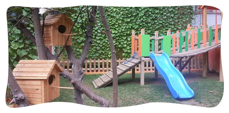 Anaokulumuzun bahçesi... www.ipekbocegi.com.tr