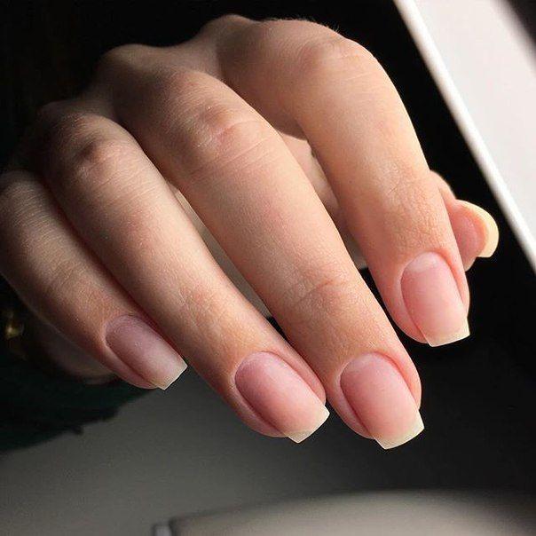 Фотография | Natural nail shapes, Natural nails, Long natural nails