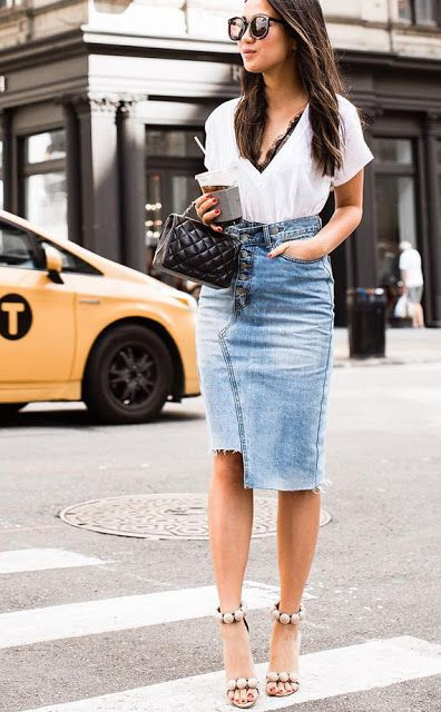 fashforfashion -♛ FASHION and STYLE INSPIRATIONS♛ - best outfit ideas: skirt