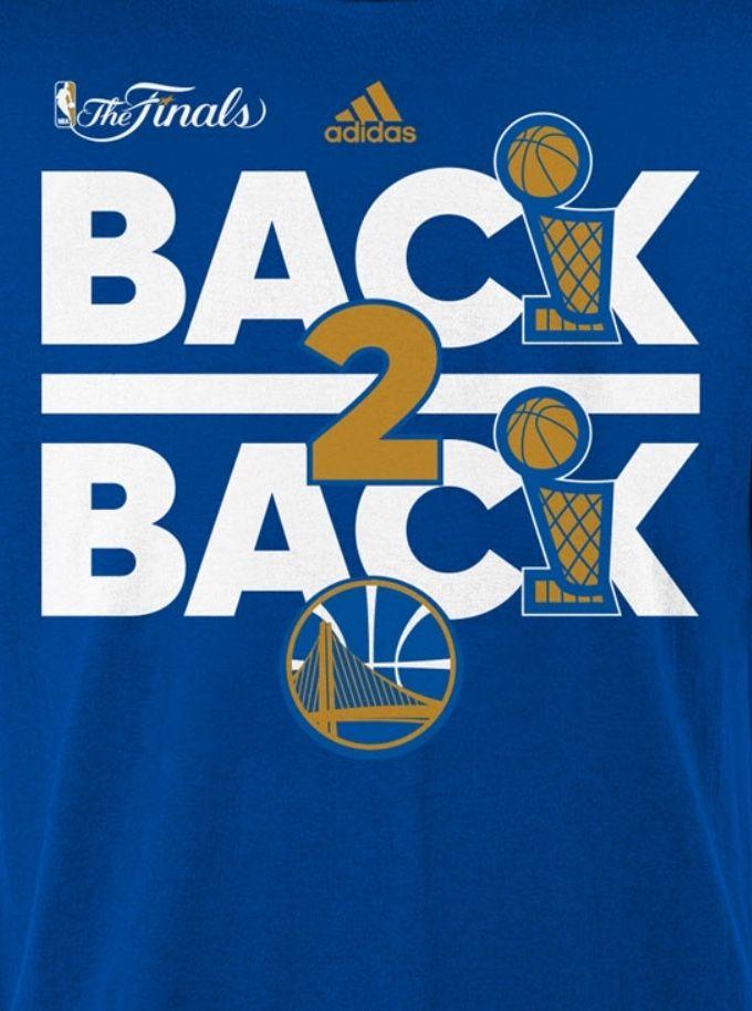 202dca5b92557 2018 Back 2 Back NBA Champion Golden State Warriors