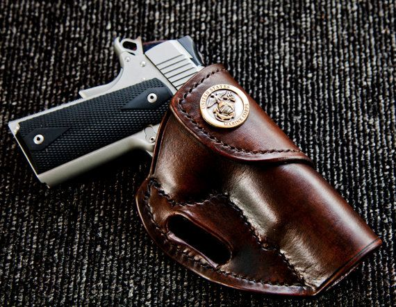 Custom Hand Made Leather Holster for 1911 by BladesandSheaths