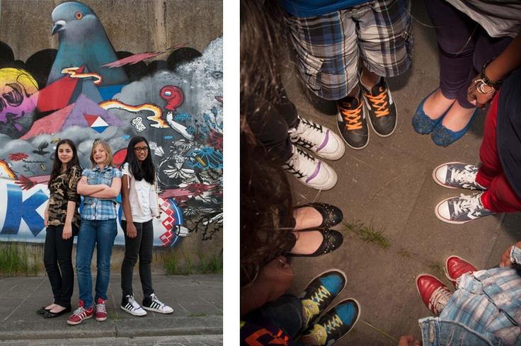 Stoere tiener fotografie portretten