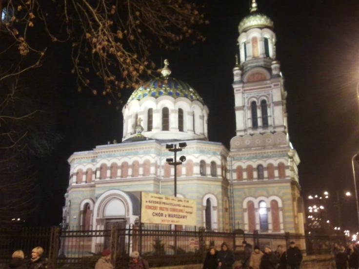 Otrhodox church, Łódź, Poland.