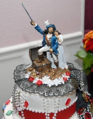 pirate ship wedding cake topper 17 best images about of the caribbean wedding on 18617