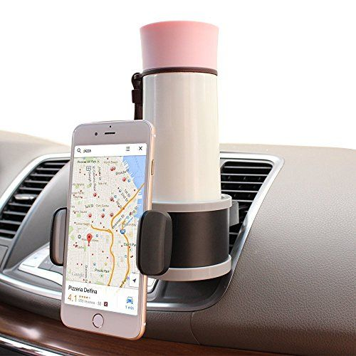 Car Mount Holder, Stoon 360 Rotate Air Vent Phone Holder & Anti Slip Drink Stand Care Interior Accessories Adjustable for Apple iPhone 7, GPS, Google Pxiel, LG V20, Cell Phone, Black/Grey - http://www.caraccessoriesonlinemarket.com/car-mount-holder-stoon-360-rotate-air-vent-phone-holder-anti-slip-drink-stand-care-interior-accessories-adjustable-for-apple-iphone-7-gps-google-pxiel-lg-v20-cell-phone-blackgrey/  #Accessories, #Adjustable, #Anti, #Apple, #BlackGrey, #Care,
