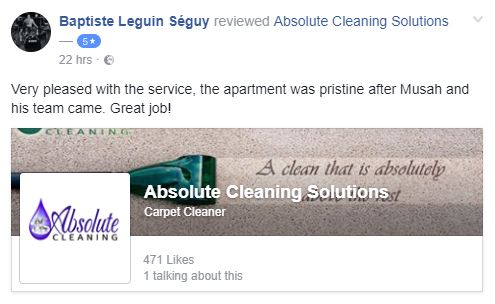 Another happy client. I'm glad we could put a smile on your face.  Need our services? Don't hesitate to give us a call. #TenancyCleaning #cleaning #home #CleaningService #ProfessionalCleaning #HomeCleaning #DeepClean #CarpetCleaning #Cleaner #AbsoluteCleaning #LeightonBuzzard #Hatfield #StAlbans #Hitchin #Berkhamsted #Hemel #Hempstead #Dunstable #Harpenden #Wheathampstead #Luton #Radlett #Bedford