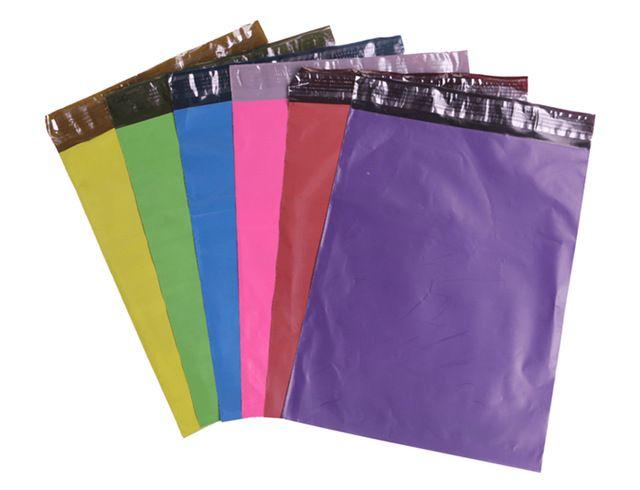 26 x 37 cm livraison gratuite couleur Express sac Poly Mailer postale enveloppe…