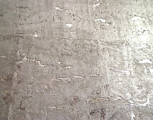! CORK wallpaper! Awesome for sound-absorption. Metallic looks so rustic & elegant. & LOVE the rough concrete look on walls, Choose any cork walling and paint it a custom color