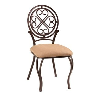 Shop for Somette Lizzy Metal Hammered Brown Traditional Side Chair (Set of 4). Get free shipping at Overstock.com - Your Online Furniture Outlet Store! Get 5% in rewards with Club O!