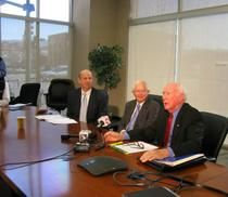 2015-3-6 - Spokesman-Review - Two FORMER Idaho governors threaten federal lawsuit over nuke waste (because we certainly can't count on Governor Butch Otter to protect us).  A huge THANK YOU for this to Governors Phil Batt and Cecil Andrus.