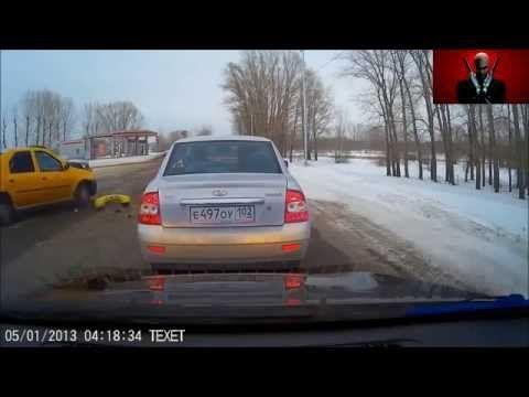Подборка аварий и ДТП #1 Таксисты