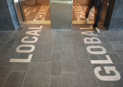 1000 ideas about floor graphics on pinterest 3d poster for Elevator flooring options