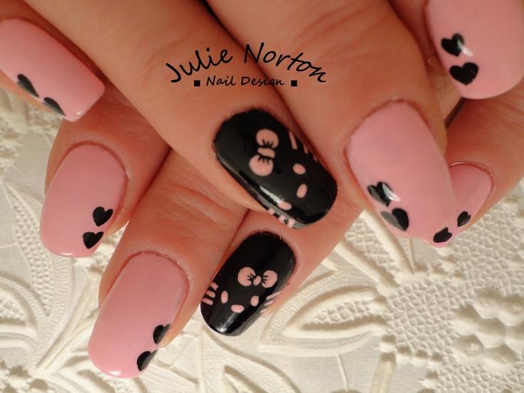Hello Kitty #nailart
