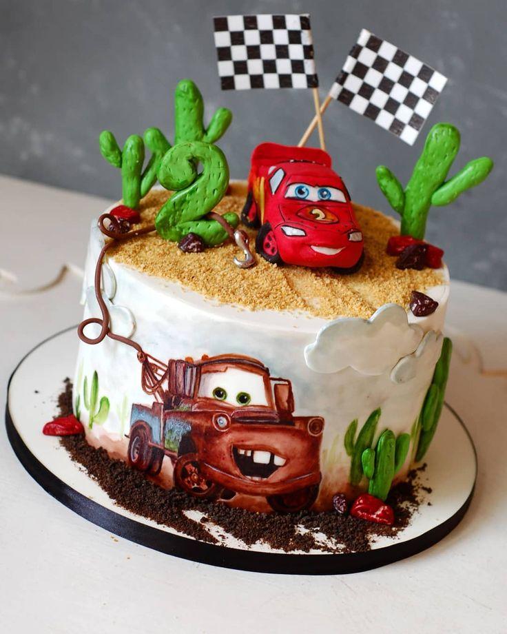торт с маквином фото без мастики где находится