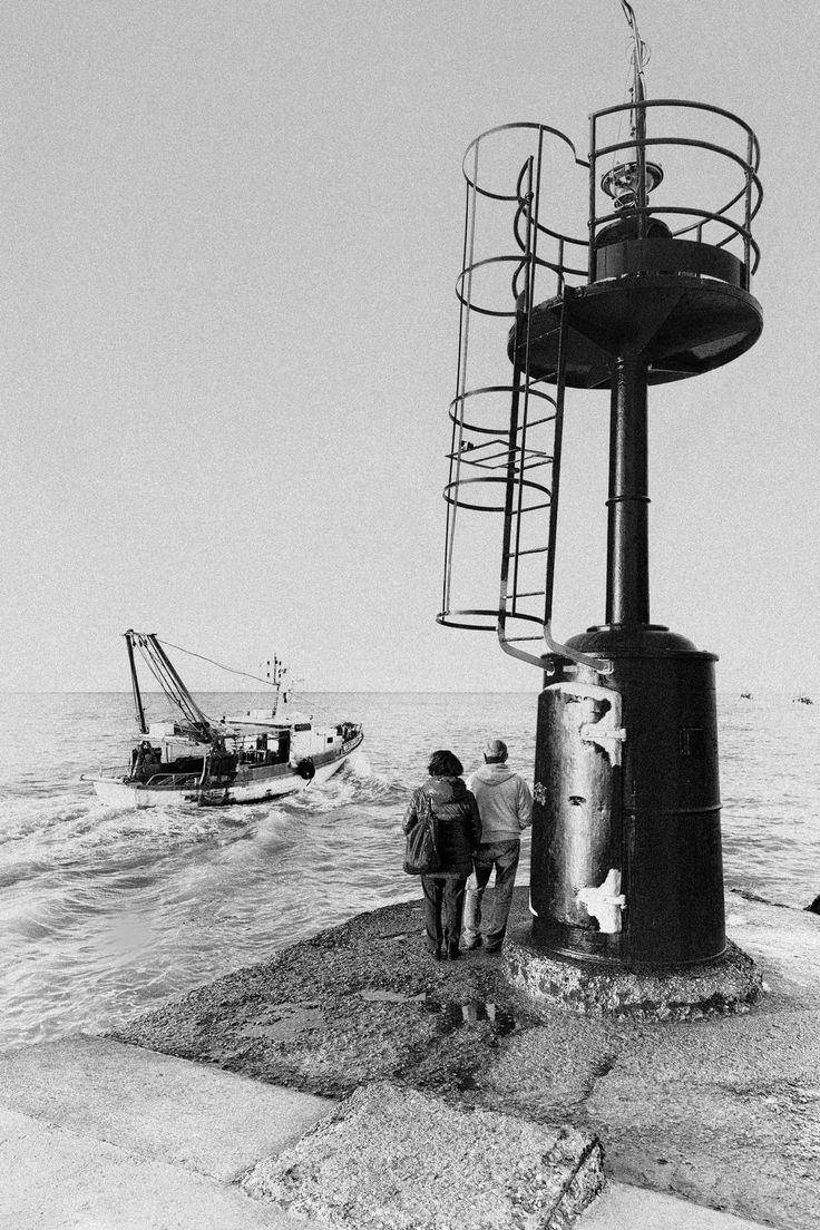 Couple & lighthouse - Coppia sul molo