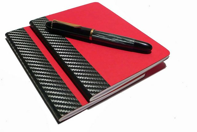 Aniki Carbon Red Notebook A6 | Flickr - Photo Sharing!