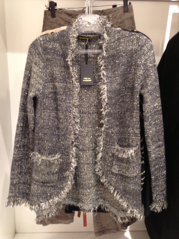 #Lurex#Chanel-style#knit from #NICCI