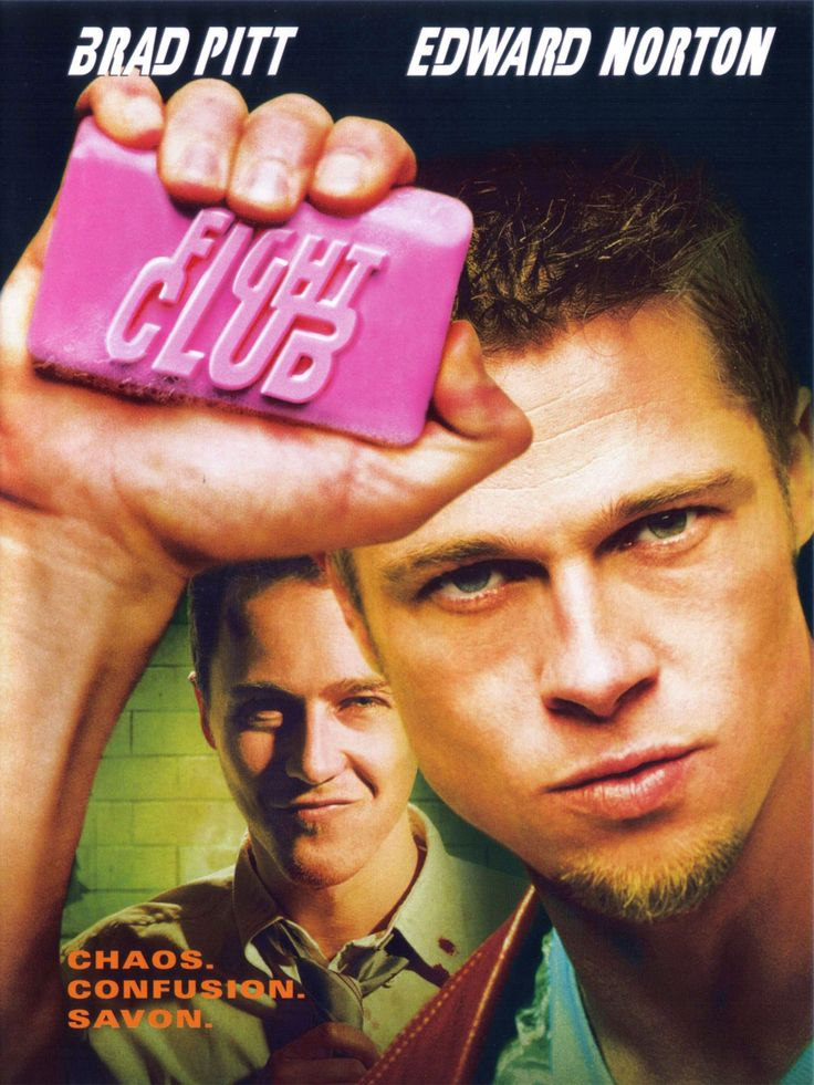 "Fight Club (1999)  ""It's only after we've lost everything that we're free to do anything."" - Tyler Durden (Brad Pitt)"