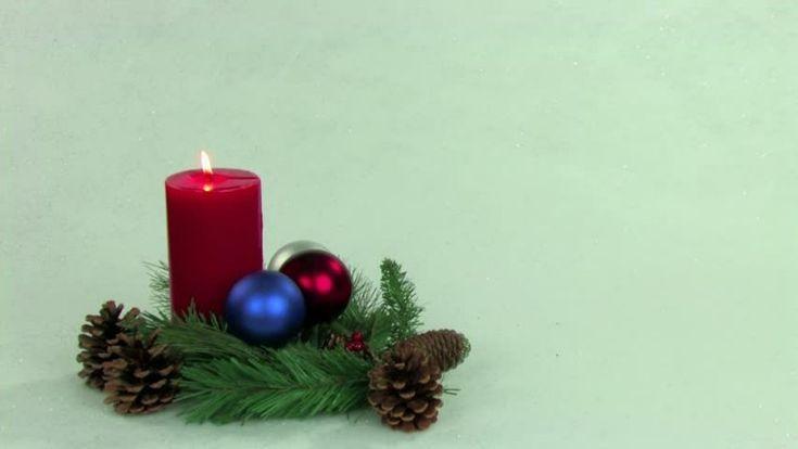 centro de navidad minimalista