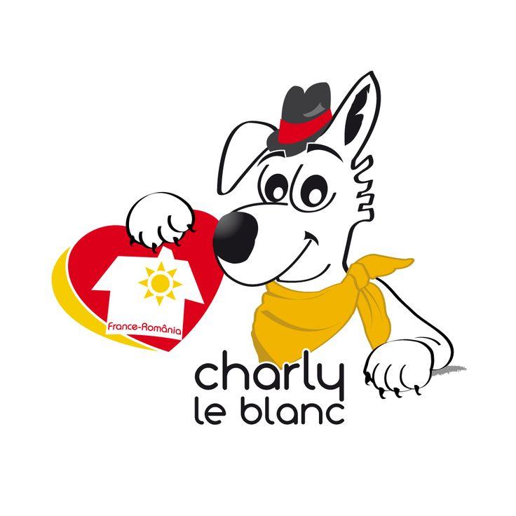 Nouveau logo de l'association Charly Le Blanc  www.charlyleblanc.org