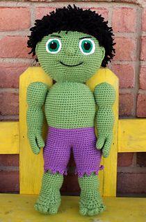 Green Buddy - Kid ~ free pattern ᛡ