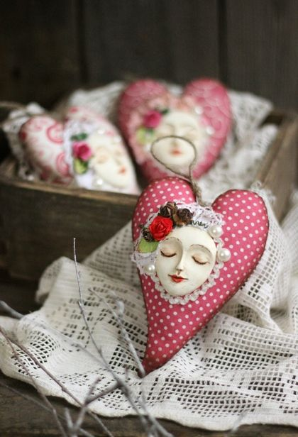 Подарки для влюбленных ручной работы. Ярмарка Мастеров - ручная работа Сердечко ко Дню Святого Валентина. Handmade.