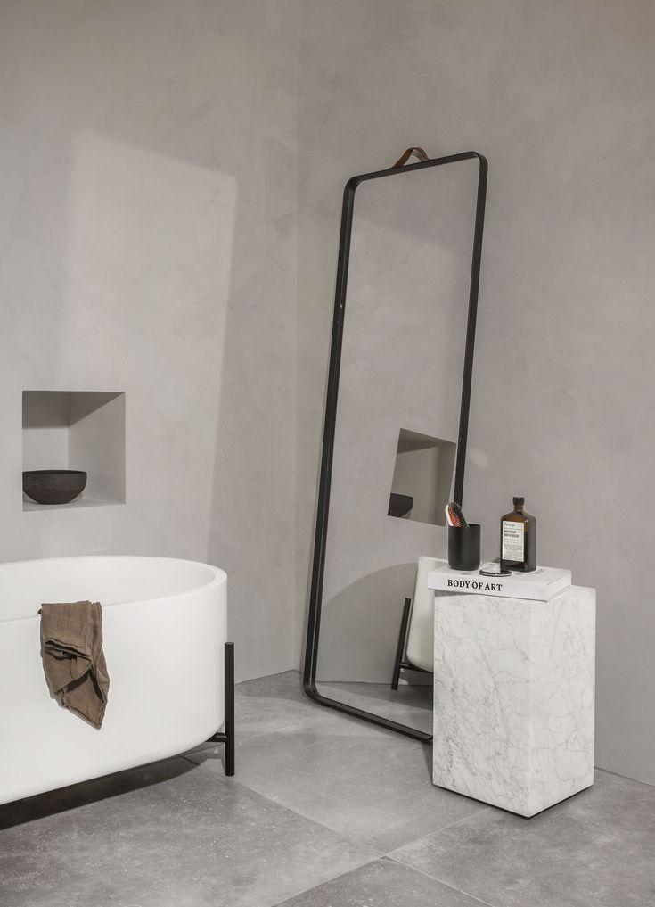MENU SS18 | Plinth, Norm Floor Mirror. https://simonjamesdesign.com/item/menu/floor-mirror-norm-architects-for-menu