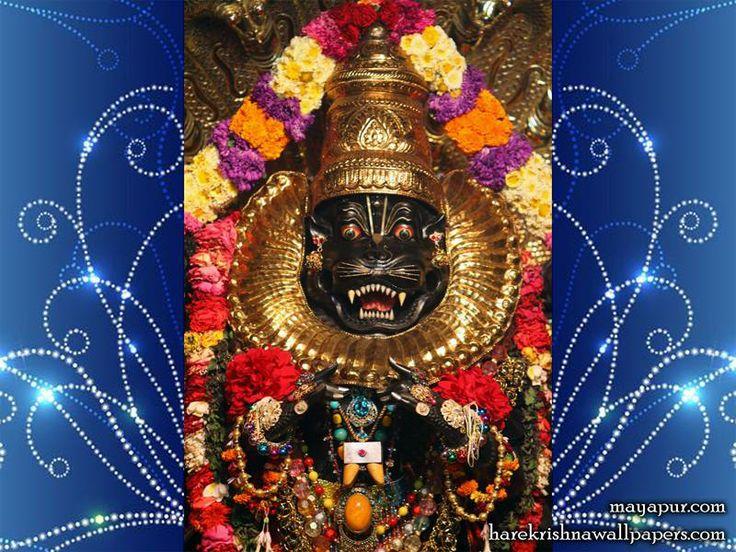 Sri Narasimha Deva Close up Wallpaper