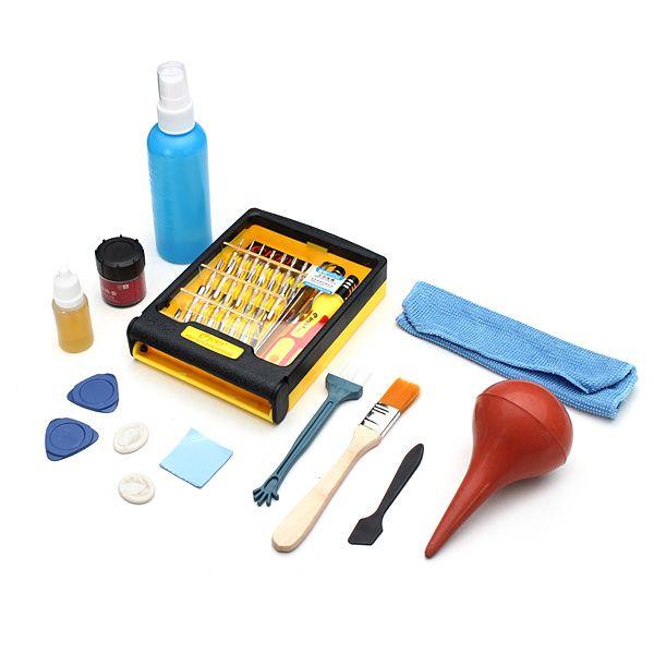 Reparación de mantenimiento de computadoras Destornillador Combine Universal Clean Kit