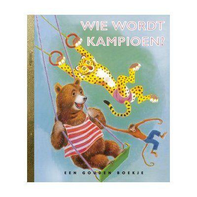 Als dieren ook aan sport zou doen, werden de mensen dan nog wel eens wereldkampioen? Een sportief Gouden Boekje over de vergelijking tussen mensen en dieren als het gaat om springen, klimmen, gewichtheffen. Want welk mens springt beter dan een kangaroe, wie klimt er sneller dan een aap en wie is er sterker dan een olifant? #lezen #speelgoed http://www.benjaminbengel.com/gouden-boekjes/1101450-gouden-boekje-wie-wordt-kampioen-9789047603665.html