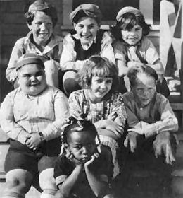 Our Gang: Mickey Daniels, Johnny Downs, Jackie Condon, Joe Cobb, Mary Kornman, Jay R. Smith, Farina