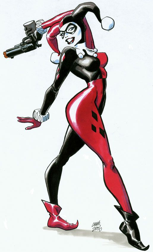 Harley Quinn.. Getting this on my thigh