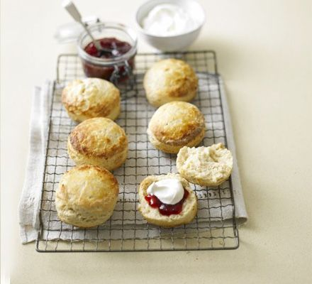 "Pinner: ""Buttermilk scones - this is a brilliant scone recipe the vanilla really comes out the next day!"""