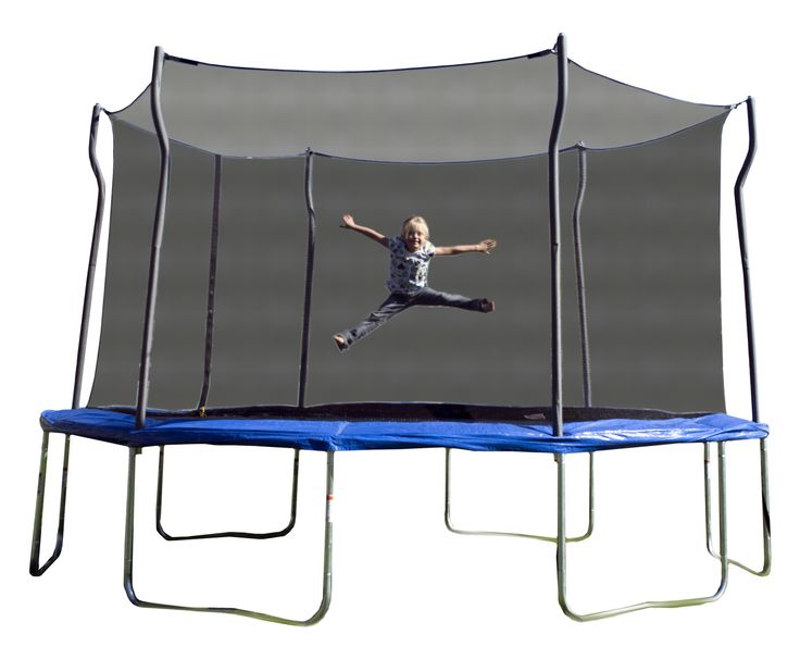 Kinetic 14' Trampoline and Enclosure Set