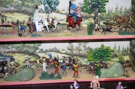 Conquête de l'Ouest - Musée de la Figurine Historique - Compiègne