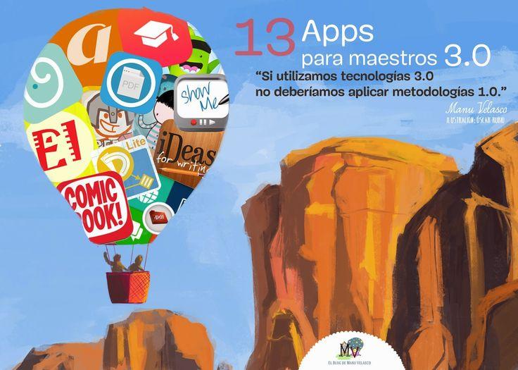 46 #apps para #docentes #educación #mobile #learning